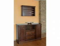 Трапезарен шкаф, заоблени страници, dining cabinet, rounded pages, round shapes